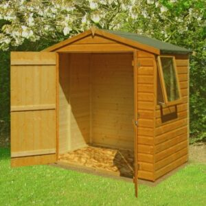 Bute 4 x 6ft Shed Double Door