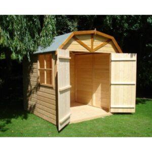 Barn 7 x 7ft Shed Double door