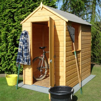 Shetland 6 x 4ft Shed Single door