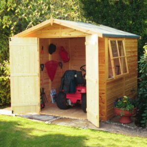 Alderney 7 x 7ft Shed