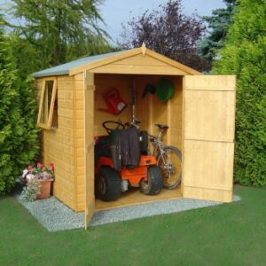 Arran 6 x 6ft Shed Double Door