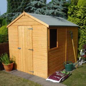 Durham 8 x 6ft Shed Single door