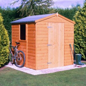Faroe 6 x 6ft Shed Single door
