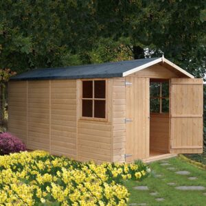 Jersey 7 x 13ft Shed Double door