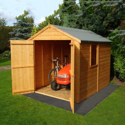 Warwick 8 x 6ft Shed Double door