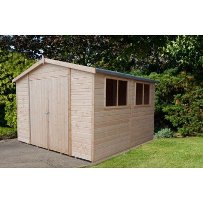 Workspace 10 x 10ft Shed Double door