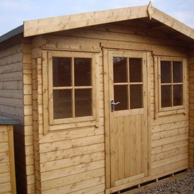 Herewood Log Cabin 10ft G x 8ft On Sale
