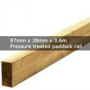 Paddock Rail