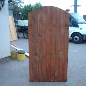 Gate closeboard Arched top