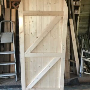 Tongue and groove Arched Framed Gate