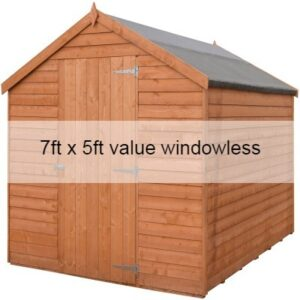 7 x 5 Overlap Value Windowless